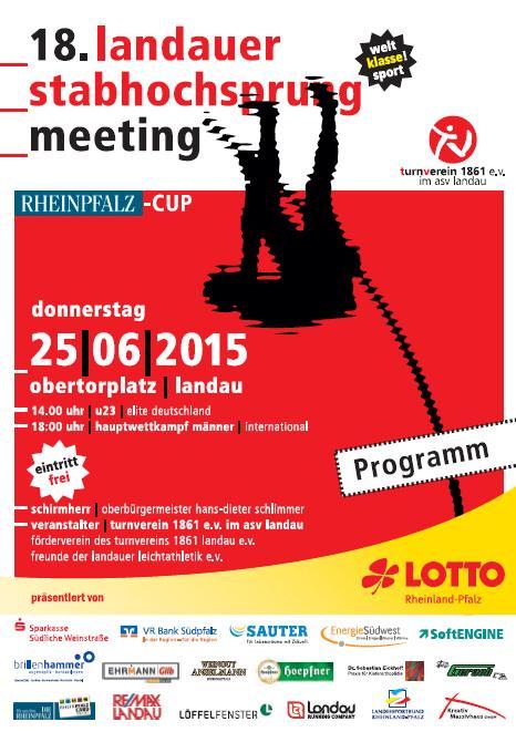 Meeting-Programmheft 2015 Ansicht